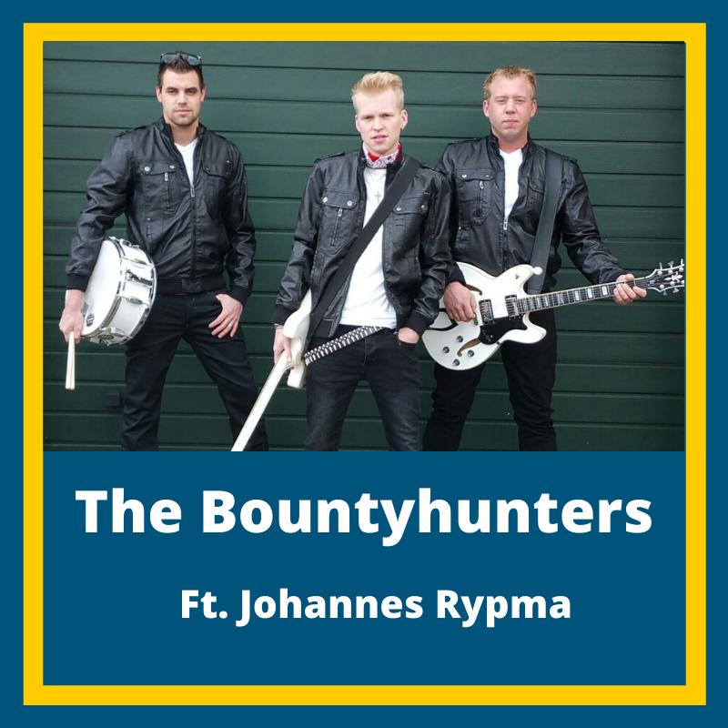 Nacht Fan De Walden | Zaterdag 7 maart 2020 | De Sannen Drogeham | Line-up | The Bountyhunters ft. Johannes Rypma